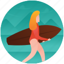 olympics game, surfer, surfing, swimming, water sports icon