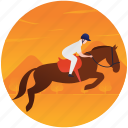 equestrian jumping, jumping horse, olympics game, olympics sports, summer olympics icon