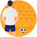 ball game, football, football player, olympic soccer, olympics game icon