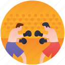 boxer, boxing, olympics boxing, olympics game, punching bag icon