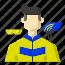 avatar, cycling, helmet, sports icon