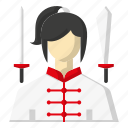 avatar, sports, sword, wushu icon
