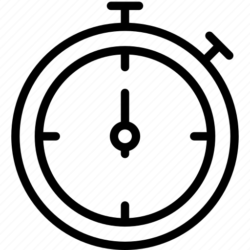 clock counter minute stopwatch icon