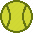 ball, tennis, tennis ball icon