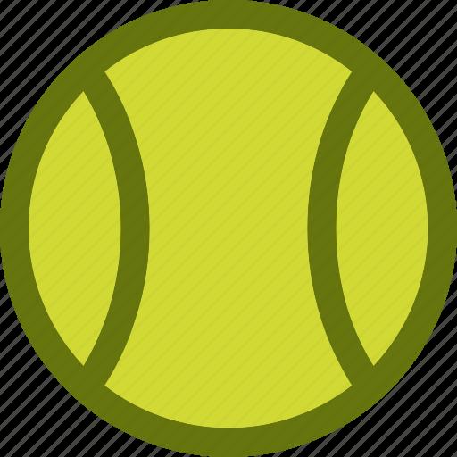 ball, tennis, tennis ball icon