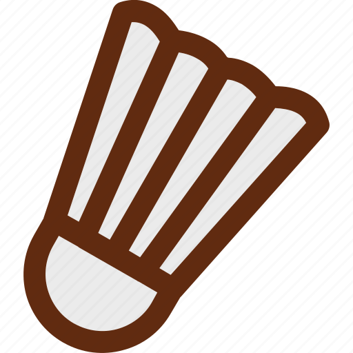 badminton, racket, shuttlecock icon