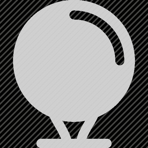 ball, court, golf icon