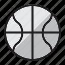ball, ball icon, basketball, basketball icon, sports, sports ball icon