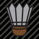 badminton ball, badminton ball icon, ball, ball icon, sports, sports ball icon icon