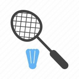badminton, equipment, game, leisure, racket, shuttlecock, sport icon