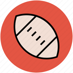 american football, egg ball, game, rugby, sports, sports ball icon