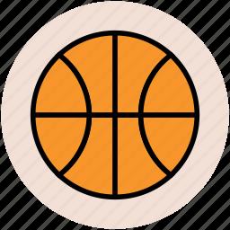 ball, basketball, basketball game, game, sports, sports ball icon