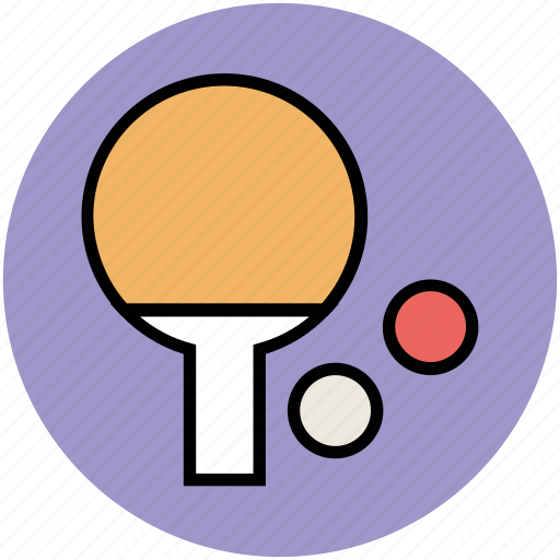 ping pong, sports game, table tennis, tennis ball, tennis bat icon