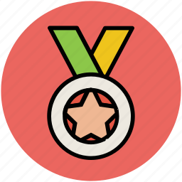 achievement, award, medal, prize, star medal, winner medal icon