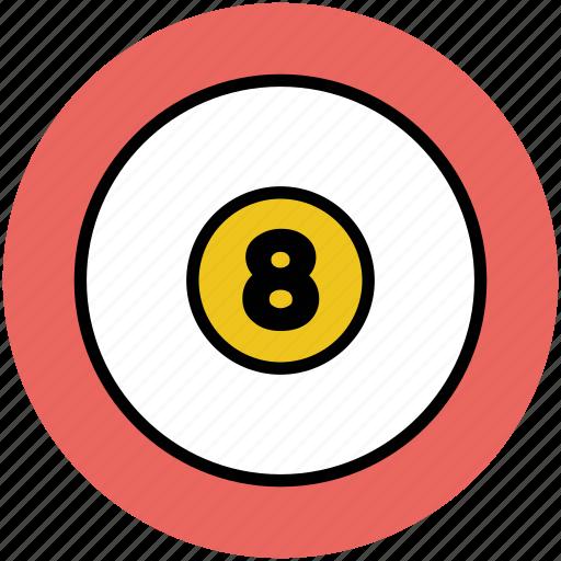 billiard, billiard ball, cue sports, game, pool ball, snooker ball, sports icon