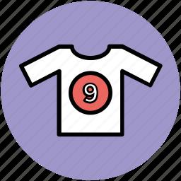 baseball shirts, shirt, sports clothing, sports shirt, sports wear icon