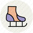 ice skates, ice skating, quad skates, skates, sports, sports equipment icon