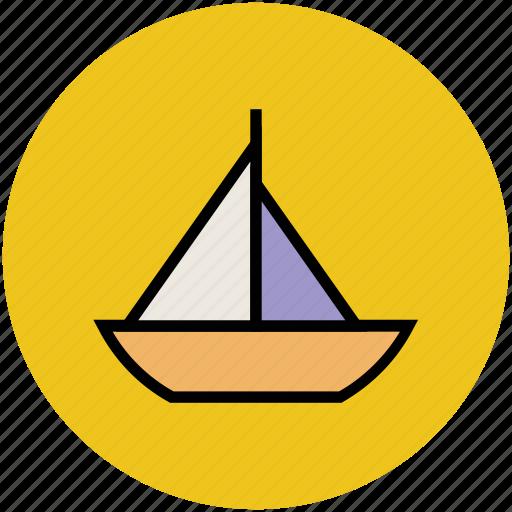 boat, boating, cruise, sailing boat, ship, yacht icon