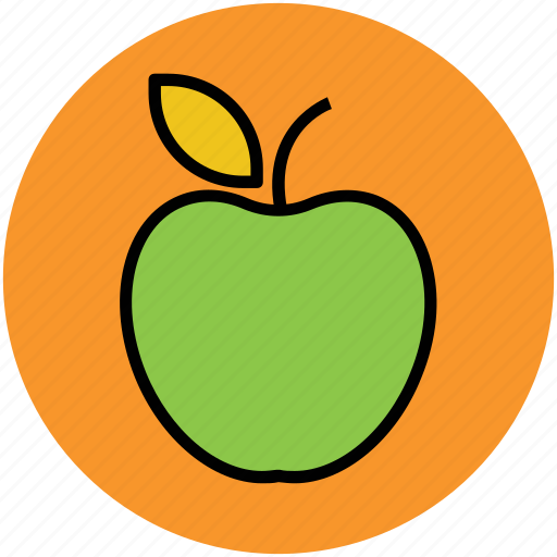 apple, diet, food, fruit, healthy diet icon
