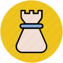 casino, chess game, chess piece, chess tower, rook, sports icon