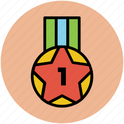 award, medal, position medal, prize, winner champion icon