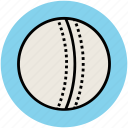 ball, cricket ball, game, sports, sports ball, sports equipment icon