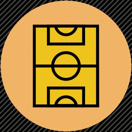 football course, football ground, playground, soccer ground, sports ground icon