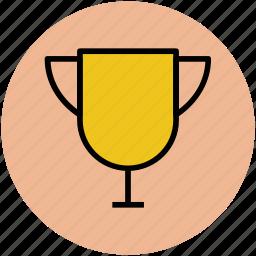 award, champion, trophy, trophy cup, winner cup, winning trophy icon
