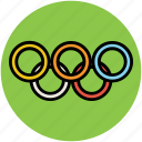 flying rings, gymnastic, gymnastic rings, ring grips, steady rings, still rings icon