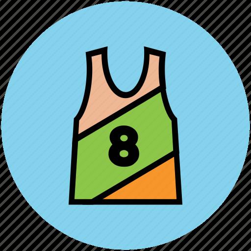 gym vest, sports clothing, sports vest, under garments, undershirt, vest icon