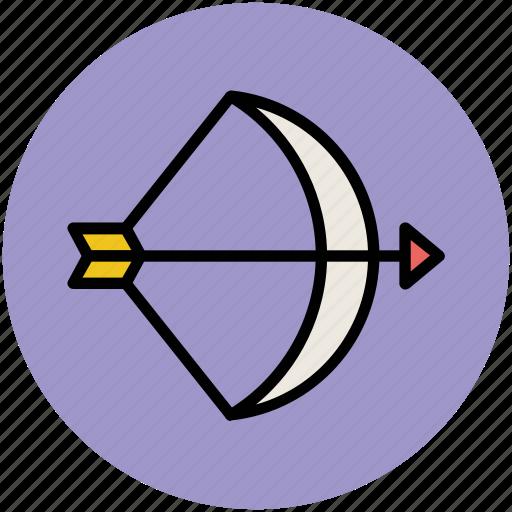 archery, archery arrow, archery target, arrow, bow and arrow, target icon