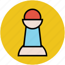 chess game, chess pawn, chess piece, pawn, sports, strategy game icon