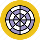 aim, archery board, dartboard, goal, target board icon