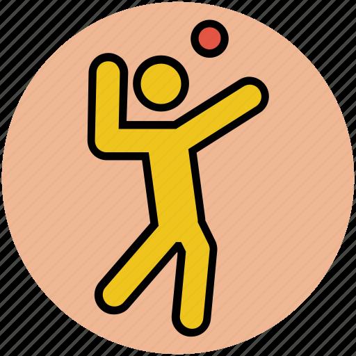 cricket bowler, cricketer, player, sportsman, sportsperson icon