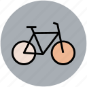 bicycle, cycle, cycle race, cycling, pedal cycle icon