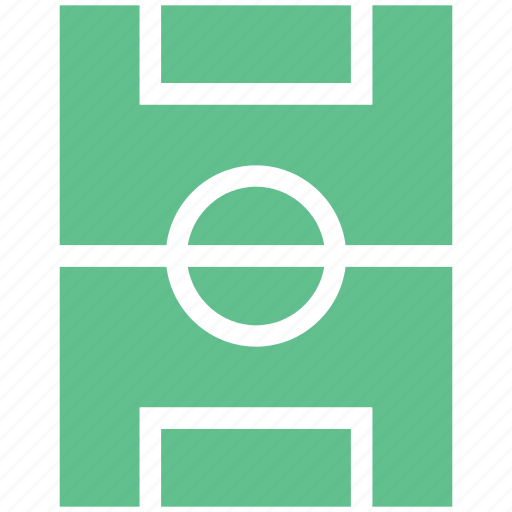 football course, football ground, ground, play area, play ground icon