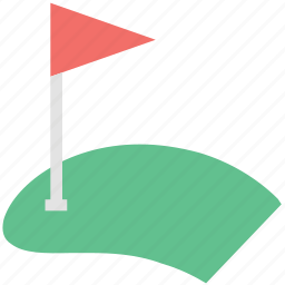flag, golf, golf course, golf flag, golf ground, sports icon