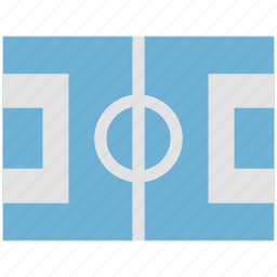 football, game, ground, playground, playing area icon