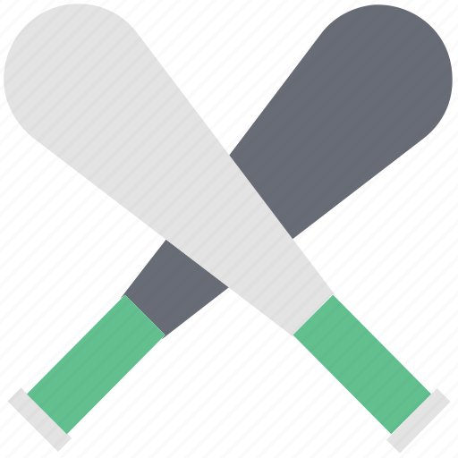 baseball, baseball bat, baseball gear, bat, sports, sports goods icon