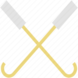 game, hockey, hockey stick, sports, sports equipment icon