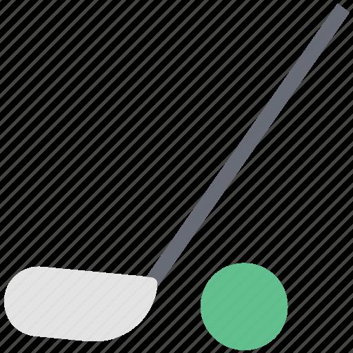golf ball, golf club, golf short, golf stick, sports icon