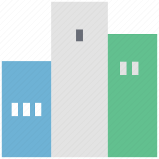 building, flats, real estate, residential flats icon