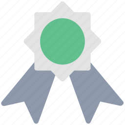 award, award ribbon, badge, medal, prize, reward, ribbon badge icon