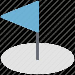 ball, flag, golf course, golf flag, golf hole flag, sports icon