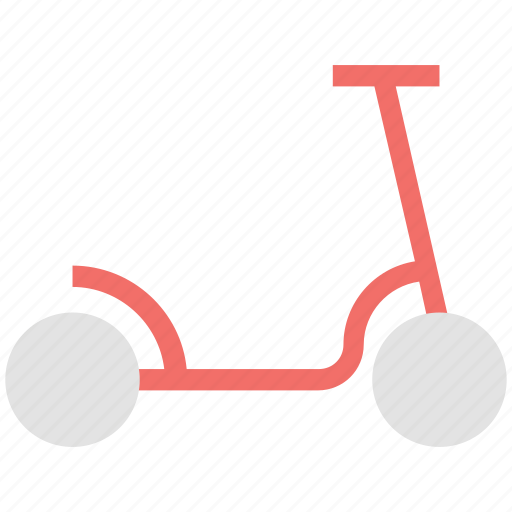 bicycle, cycle, scooter, scooty, segway scooter icon