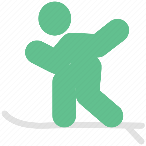 athlete, ice skating, skateboarding, skater, skating, sportsman icon