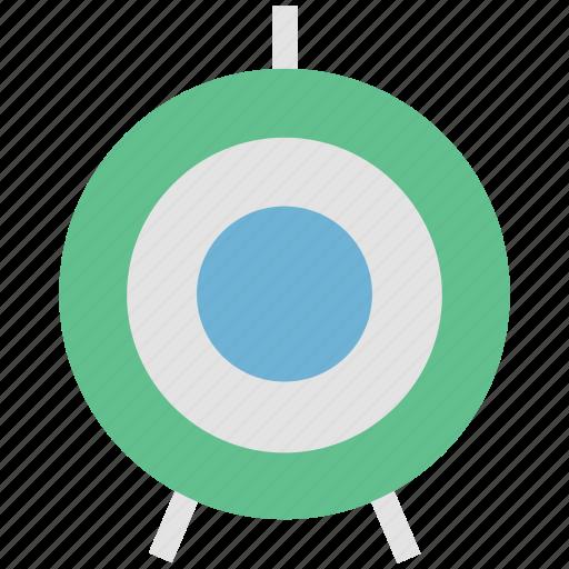 archery target, bullseye target, dart, dartboard, target, throwing game icon