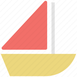 boat, boating, sailboat, ship, vessel, water sports, yacht icon