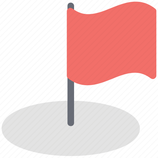 ball, flag, golf course, golf flag, golf hole flag, sports icon