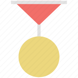 badge, medal, prize, sports medal, winner icon